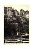 Elbsandsteingebirge, Bastei, Dampfer Karlsbad Giclee Print