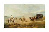 Pampas, 1865 Giclee Print by Prosper Lafaye