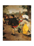 The Peasant Dance, 1566 Giclee Print by Pieter Bruegel the Elder