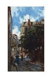 Paris Street Giclee Print by Telemaco Signorini