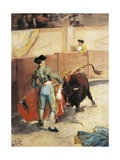 Spain, Bullfight, 1892 Giclee Print by Victor Adam