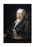 Portrait of Francisco Goya Giclee Print by Victor Adam