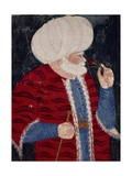 Portrait of Hayreddin Barbarossa, Turkish Admiral Giclee Print by Richard Gerstl
