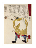 Peasant with a Lighted Torch Giclee Print by Utagawa Toyokuni