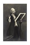 Künstler Friedrich Ii Der Große Von Preußen, Flöte Giclee Print