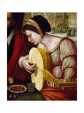 Musicians Giclee Print by Pieter Meulener