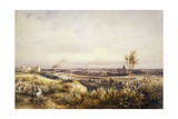 View of Paris from Chaillot Hill, 1833 Giclee Print by Silvestro Lega