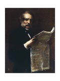 Portrait of the Lawyer Marozzi Giclee Print by Tranquillo Cremona