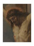 Crucified Christ with Saints Anthony of Padua, Madeleine and Valentine Giclée-tryk af Sebastiano Ricci