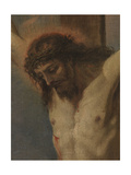 Crucified Christ with Saints Anthony of Padua, Madeleine and Valentine Giclee Print by Sebastiano Ricci