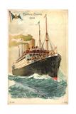 Dampfer Cleveland Der Hapag Unter Us Flagge Giclee Print