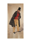 Character of Tecoppa Created by Milanese Actor Edoardo Ferravilla in 1874 Giclee Print by Tranquillo Cremona