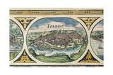 Toledo, Spain. Le Theatre Du Monde Giclee Print by Willem Janszoon Blaeu