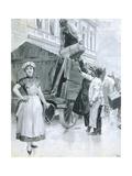 Departure, 1907 Giclee Print by Wilhelm Gause