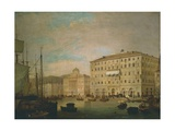 Metternich Hotel in Trieste Giclee Print by Tranquillo Cremona