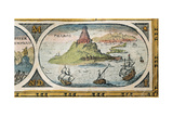 The Lighthouse of Alexandria, Le Theatre Du Monde Giclee Print by Willem Janszoon Blaeu