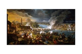 Battle at Bridge of Lodi, May 10, 1796 Giclee Print by Pietro Bouvier