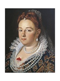 Portrait of Bianca Cappiello Wife of Francesco I De Medici Giclee Print by Sebastian Pether
