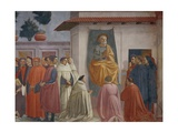 The Raising of the Son of Theophilus Giclee Print by Tommaso Masaccio