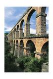 Spain, Catalonia, Tarragona, Roman Aqueduct Giclee Print