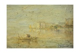 View of the Lagoon in Venice Giclee Print by Pietro Marussig