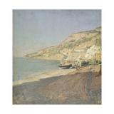Amalfi Beach Giclee Print by Pietro Sorri