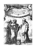 Frontispiece for Dialogue Concerning the Two Chief World Systems Giclee Print by Stephan Joseph