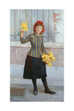 A Portrait of Miss Gertie Miller, 1893 Giclee Print by William Henry Margetson