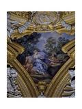 The Muses, Euterpe and Urania Giclee Print by Pietro Fabris