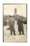 Foto Wangerooge Niedersachsen, Zwei Männer Am Strand Giclee Print