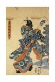 New Year's Game Giclee Print by Utagawa Kunisada