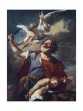 Abraham's Sacrifice, Ca 1700 Giclee Print