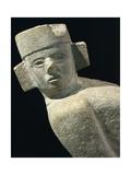 Maya Civilization, Mexico, Statue of Chac Mool, from Chichen Itza Giclee Print