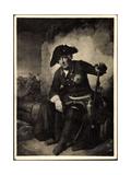 Künstler Julius Schrader, Friedrich II, Schlacht, Köln Giclee Print