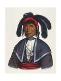 Seminoles Native American Chief Giclee Print