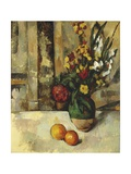 France, a Vase and Two Apples Giclee Print