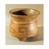 Vase Originating from El Salvador, Pre-Colombian Civilization Giclee Print