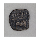 Eucratide of Bactria Hellenistic Coins BC Giclee Print