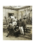 Officers of Galliano Battalion in Agordat, Eritrea, 1894, Italian Colonialism in East Africa Giclee Print