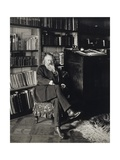 Austria, Vienna, Portrait of German Composer, Pianist and Conductor, Johannes Brahms in Home Giclee Print