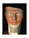 Head of Queen Hatshepsut from Deir El-Bahari Giclee Print