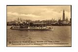 Anvers, Dampfer Wilford, Excursions Sur L'Escaut Giclee Print