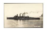 Italienisches Kriegsschiff, R.Nave, Amalfi Giclee Print