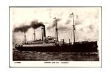 Cunard Line, Dampfschiff S.S. Saxonia, S.S. Sachsen Giclee Print