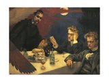 Finland, the Symposium, the Problem, 1894 Giclee Print