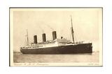 Cunard Line, R.M.S. Berengaria, Huge Steamer Giclee Print