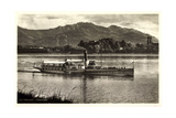 Herreninsel Chiemsee, Dampfer Ludwig Fessler Giclee Print