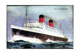 Künstler Church, W., Cunard Line, R.M.S. Mauretania Giclee Print