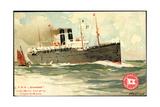 Künstler T.S.S. Kroonland, Red Star Line Giclee Print
