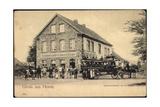Heven Witten, Schenkwirtschaft Von H.Schröer,Kutsche Giclee Print